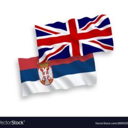 flags-great-britain-and-serbia-on-a-white-vector-26952290