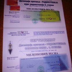 sertifikat radiestezije
